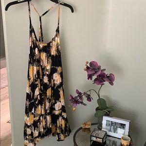 Beachy floral dress